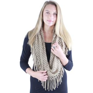 Wholesale Infinity Scarves<br>Lurex Mix Knit<br>9137