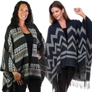 Winter Ruana Capes<br>Prints