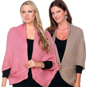 Cozy Shrugs<br>and Knitted Capes<br>