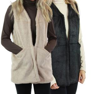 Vests<br>Luxury Faux Fur<br>9161