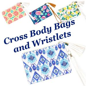 Wholesale Crossbody Bags<br>& Matching Wristlets