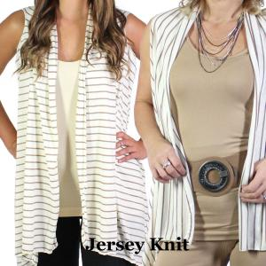 Wholesale Jersey Knit Vests