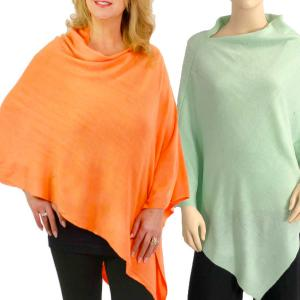 Wholesale Poncho<br>Solid Cashmere Feel<br>8672