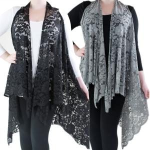 Vests<br>Lace Design<br>9121