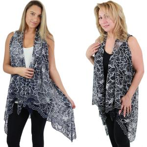 Wholesale Vests<br>Lace Two Tone<br>9101