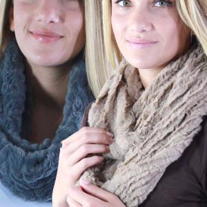 Wholesale Faux Fur Infinity Scarves