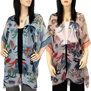 Kimono<br>Flower Design with Sequins<br>9151<
