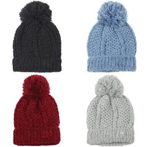 Wholesale Knit Beanie<br>Pom Pom<br>9518