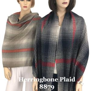 Wholesale Oblong Shawls<br>Herringbone Ombre<br>8879