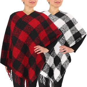 Poncho<br>Buffalo Check<br>9575