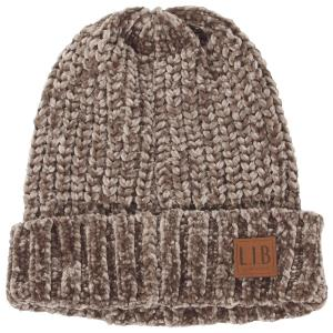 Wholesale Knit Beanie<br>Chenille<br>9166