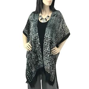 Kimono Vests - Abstract Print 9622