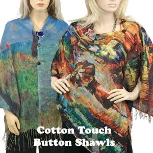 <b>Cotton Touch Art Design Shawls 