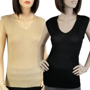 Wholesale Ribbed Sweater Knit Sleeveless Top