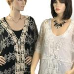 Top - Lace Embroidered 1618