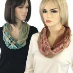 Magnetic Clasp Scarves (Bohemian Three Layer)
