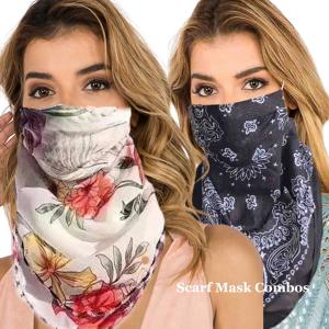 Protective Mask Scarf Combos C01/C02/C04/C08