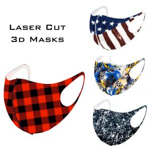 Wholesale Protective Mask Laser Cut 3D Design