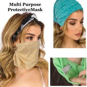 Wholesale Protective Masks- Multi Use Tube C18