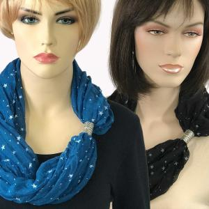 Wholesale Starry Scarves with Magnetic Clasps<br>A.I.M.