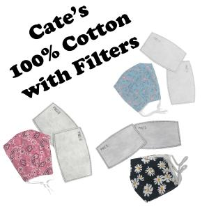 Wholesale Protective Masks by Cate with Filters