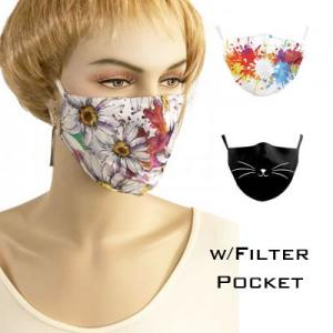 Wholesale Protective Masks by Jessica with Filter Pocket