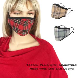 Wholesale Protective Masks by Max - Tartan Plaids