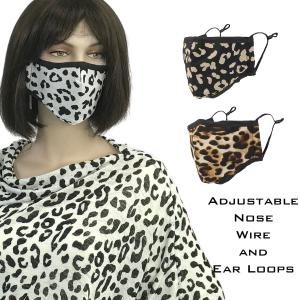 Wholesale Protective Masks by Max - Leopard Prints