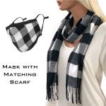Scarf with Matching Protective Mask