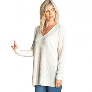 Sweater - Brushed Thermal Waffle Weave  2589