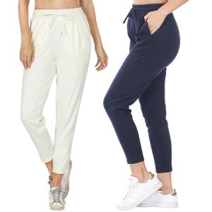 Wholesale Pants - Cotton w/ Drawstring Waistband 32061