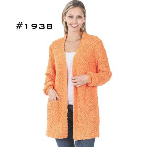 Wholesale Popcorn Cardigan w/Pockets 1938
