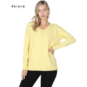Wholesale V-Neck Sweater #21018