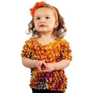 Silky Touch Popcorn<br>Short Sleeve & Long Sleeve<br>Kids Size<br>Toddler to Tween