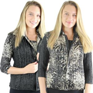 Quilted Reversible Vests<br>One Size (S-L)<br>Plus Size (XL-2X)
