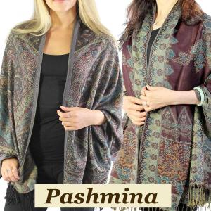 Wholesale Pashmina Style Shawls<br>Woven Solids & Prints<br><font color = red><b>NEW STYLES</b></font>