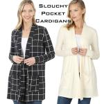 Slouchy Pocket Cardigans