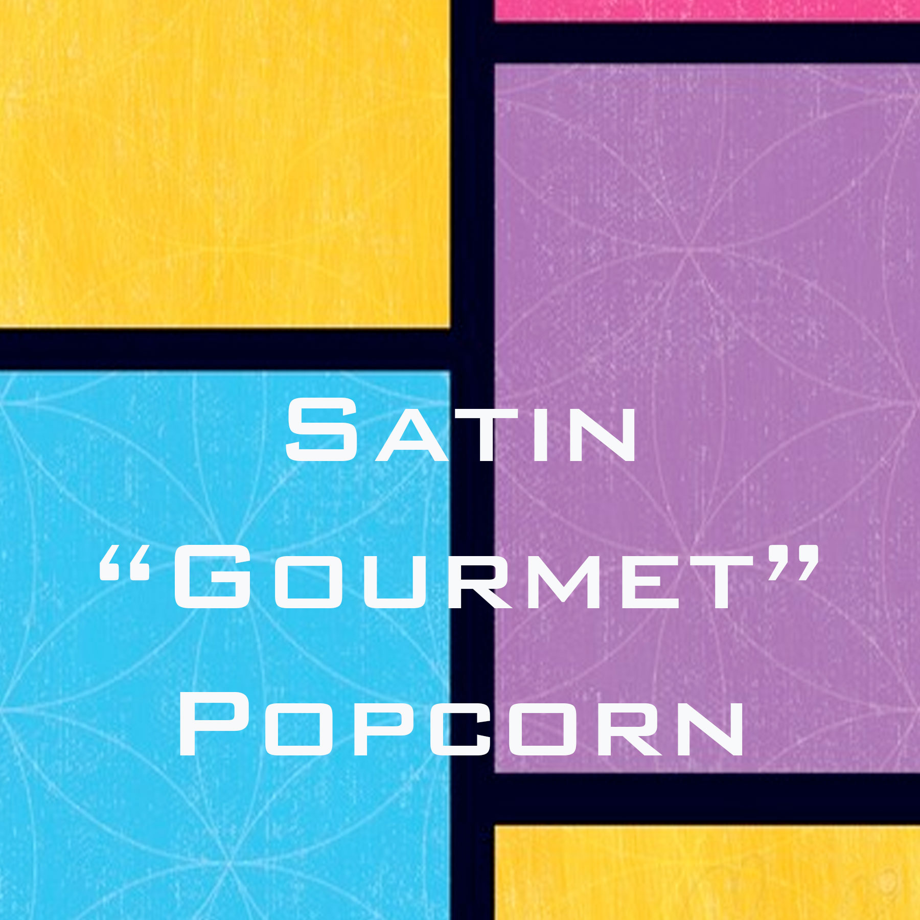 Wholesale Satin Gourmet Popcorn Shirts