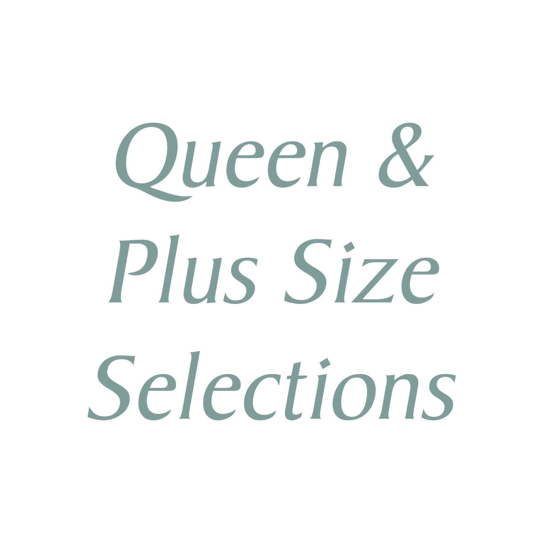 Fit for a Queen (Plus Size Fashion)