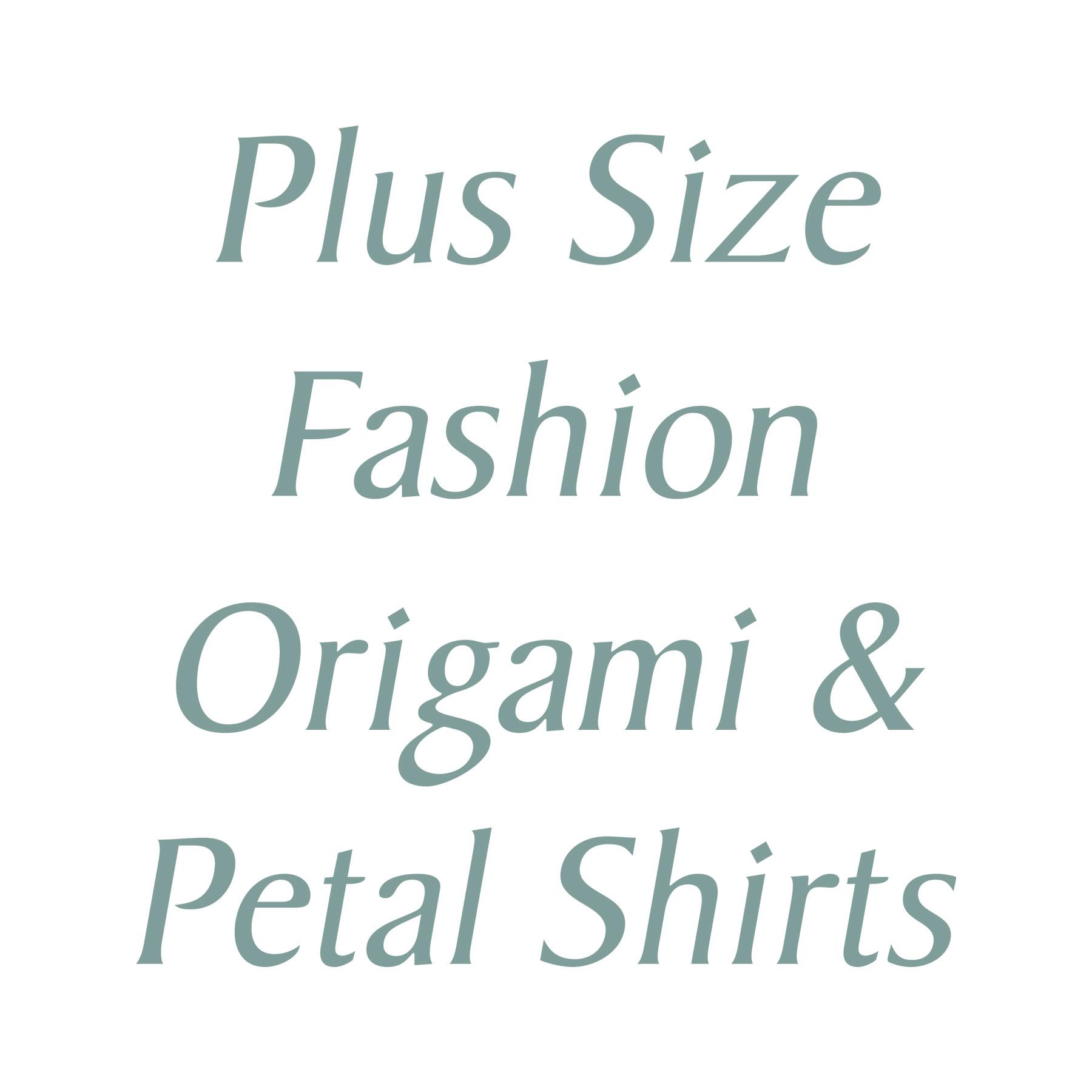 Origami and Petal Shirts