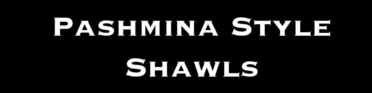 Wholesale Pashmina Style Shawls