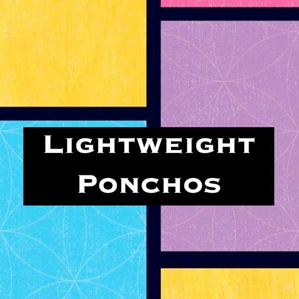 Lightweight Ponchos