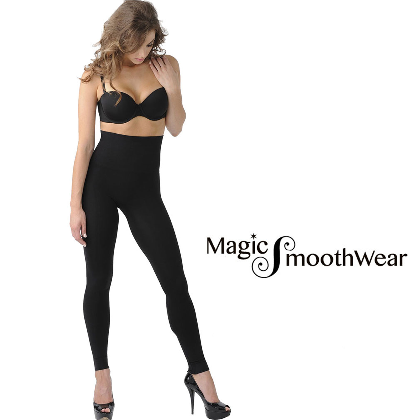 Magic Tummy Control SmoothWear Leggings and Capris