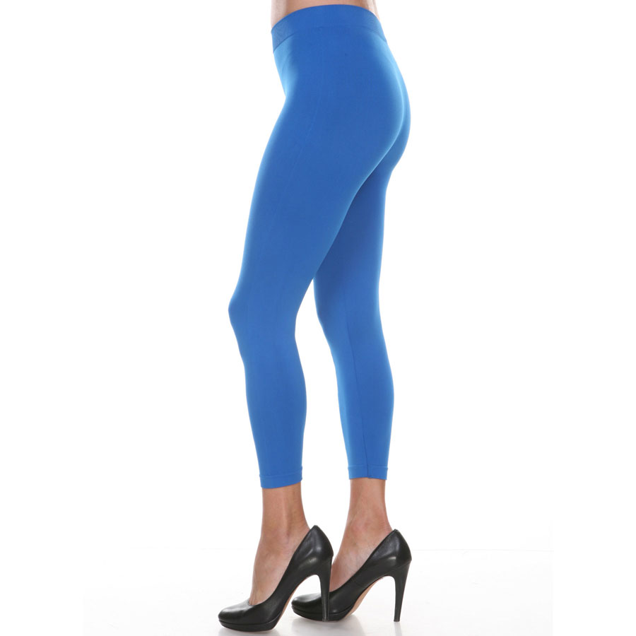 Solid Color Leggings - Capri Length