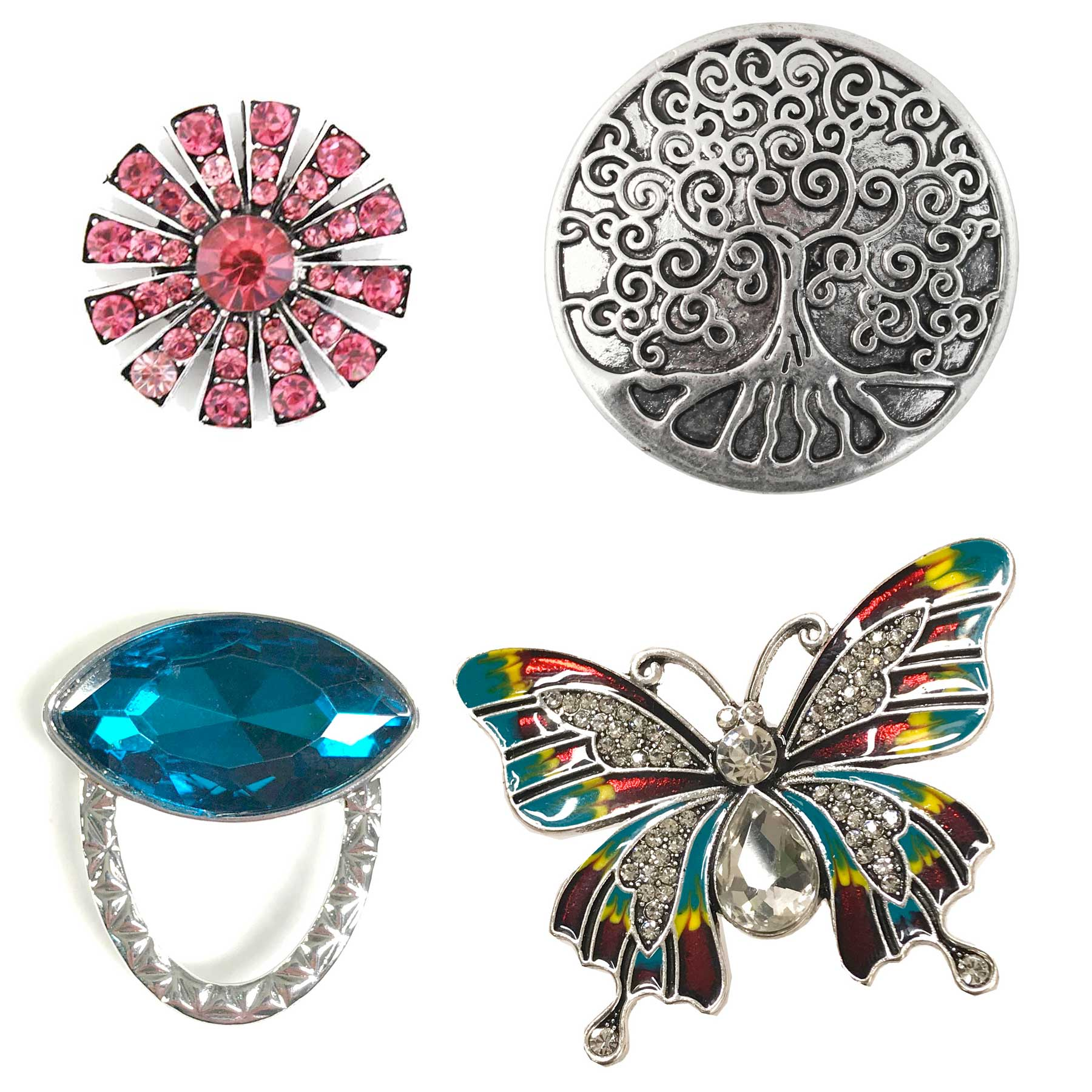 Magic Magnetic Brooches and Eyeglass Holders