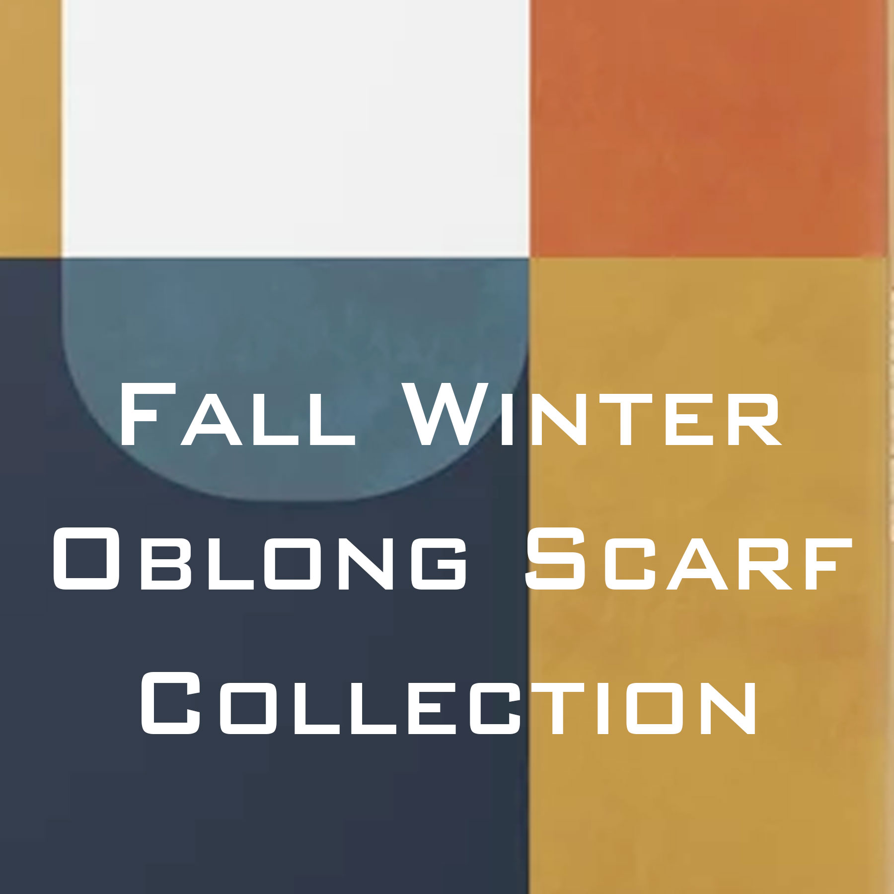 Wholesale Fall and Winter Oblong Scarves