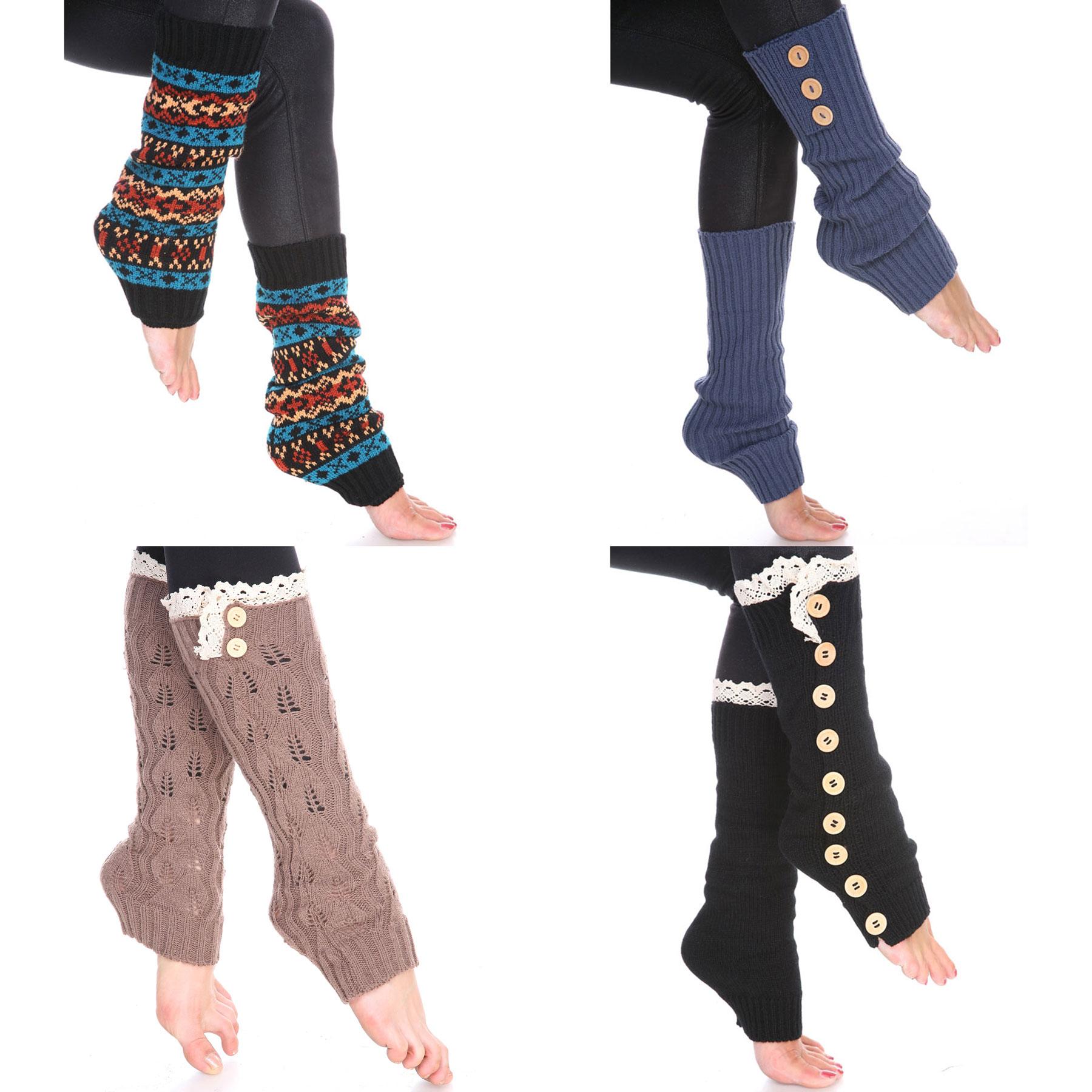 Wholesale Acrylic Leg Warmers