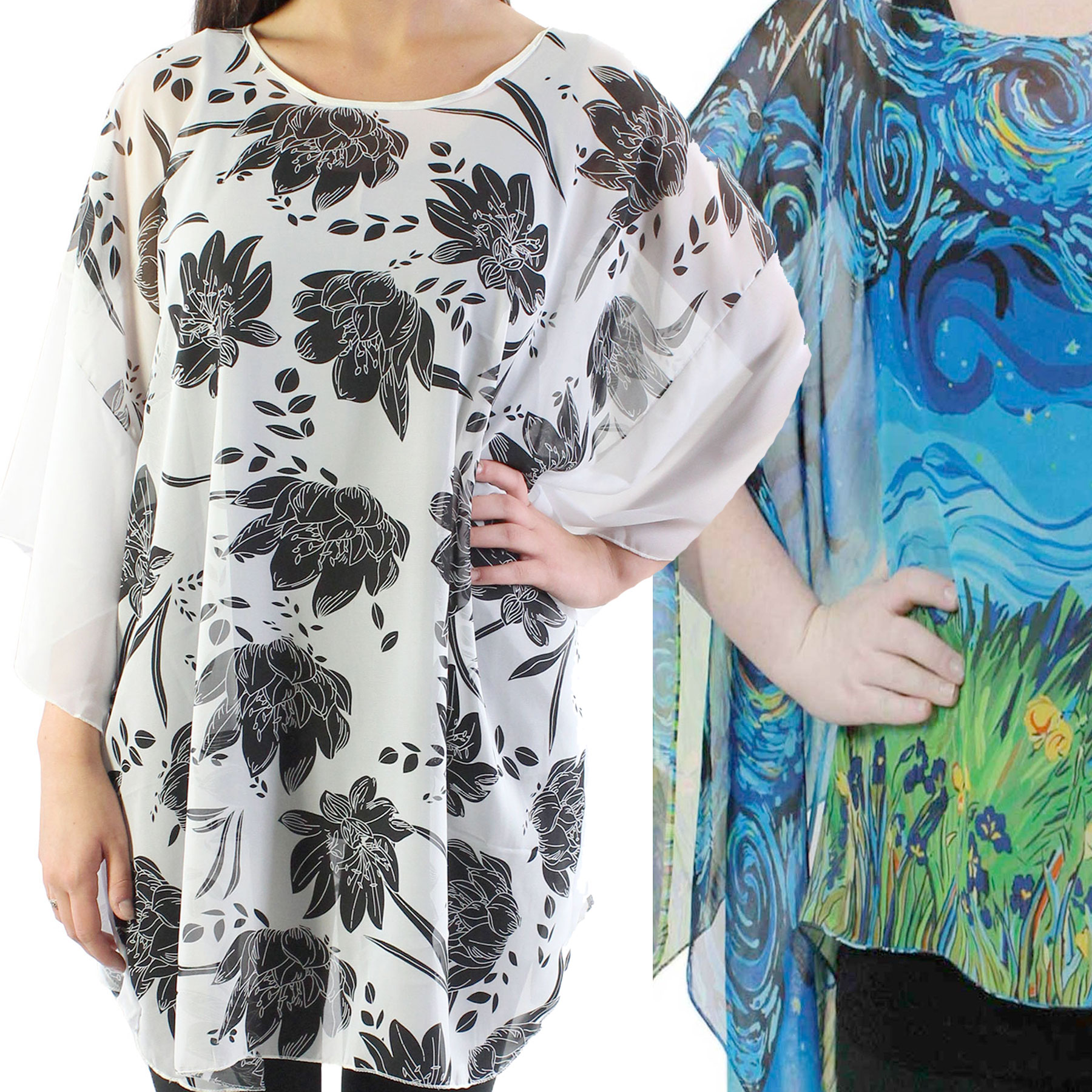 Magic Ponchos for Spring and Summer