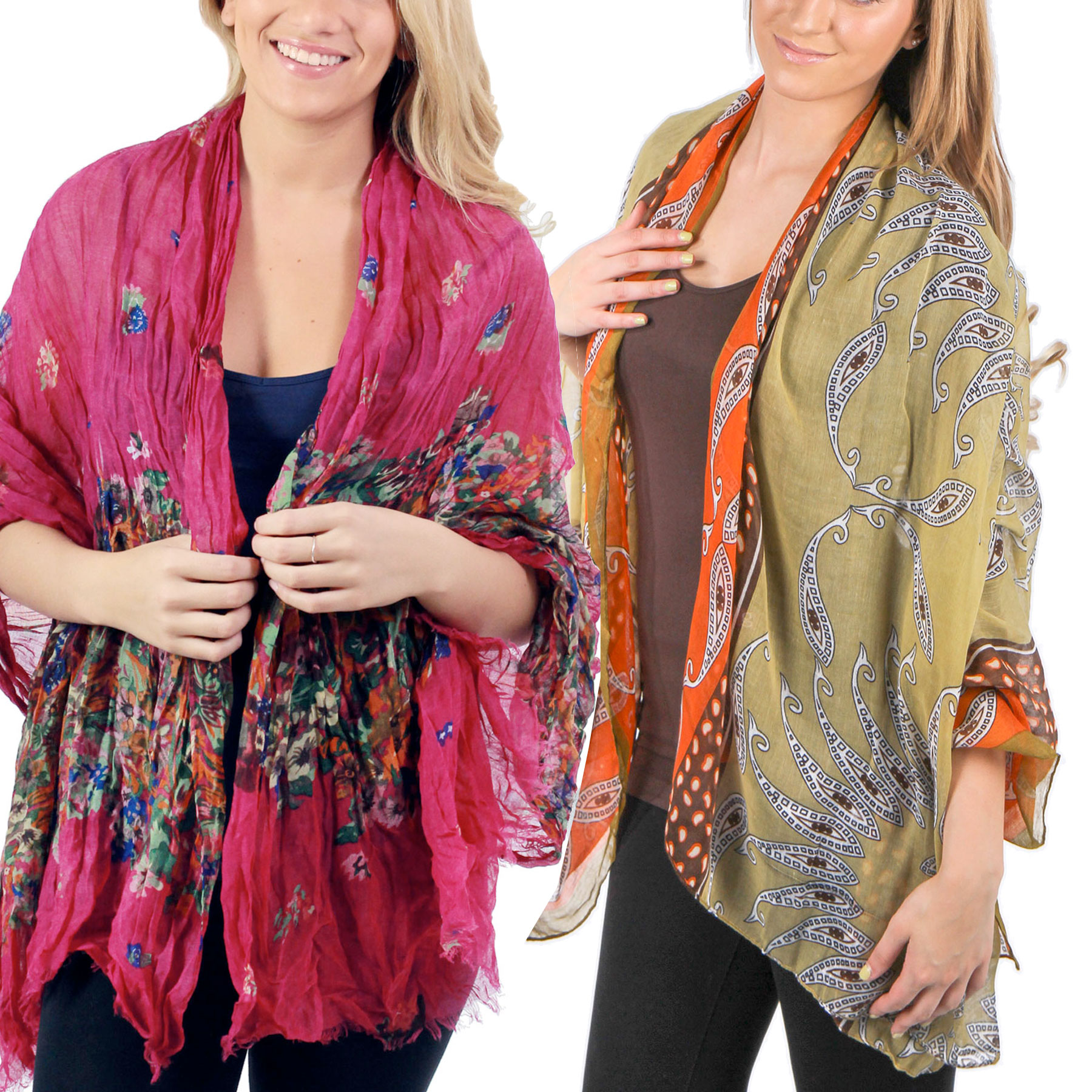 Magic Summer Shawls