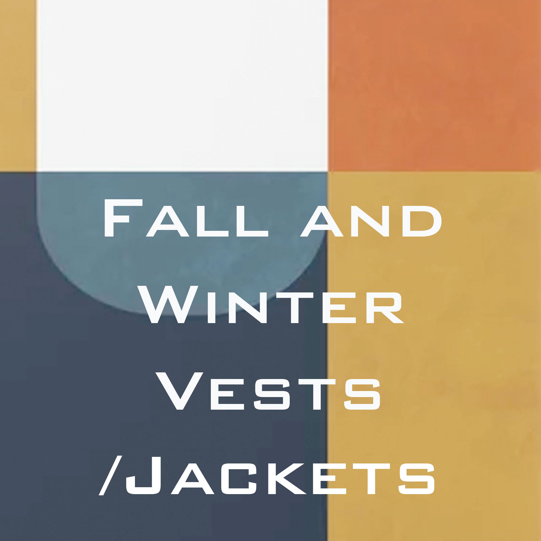 Wholesale Fall and Winter Vests and Jackets